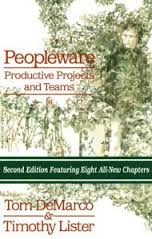 Peopleware – Productive projects and teams – Tom DeMarco & Timthy Lister